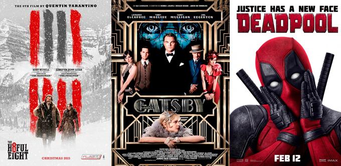 cinco filmes