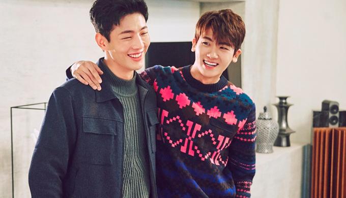 In Guk-doo e Ahn Min-hyuk