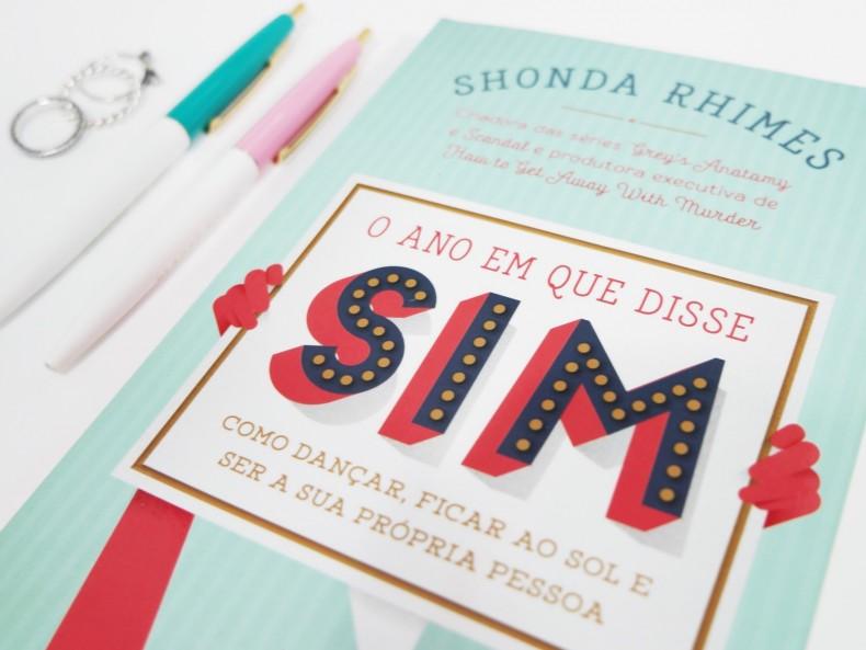 Foto da capa do livro O Ano Que Disse Sim de Shonda Rhimes
