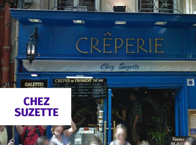 Chez Suzette - Crepe em Paris