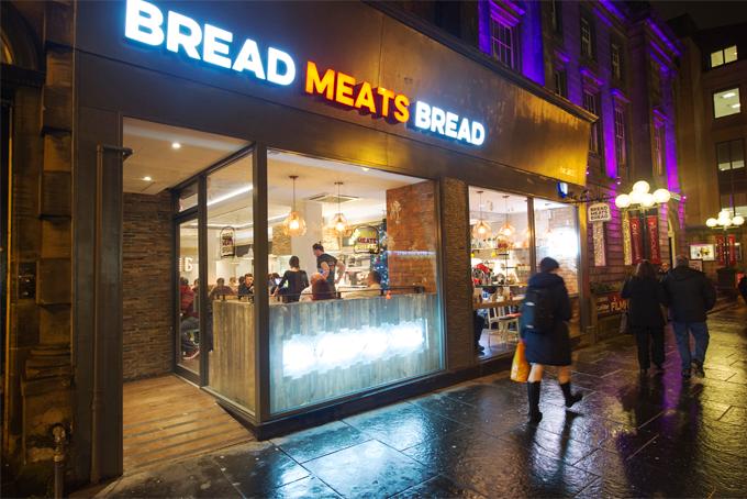 Bread Meats Bread - Comer em Edimburgo