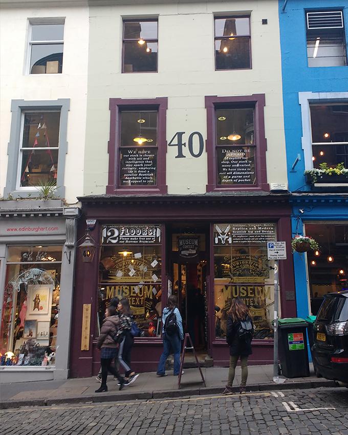 Loja de Harry Potter na Victoria Street