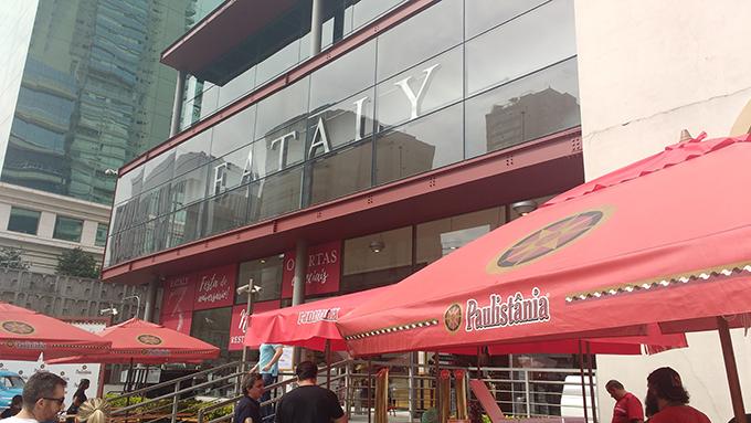 Fachada Eataly São Paulo